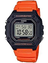 Casio Youth Digital Black Dial Men's Watch-W-218H-4B2VDF (I112)