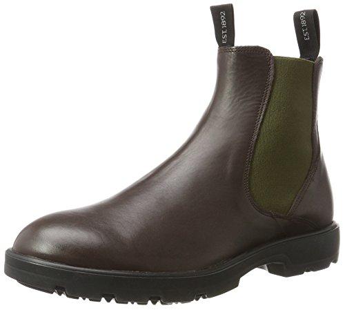 Florsheim BURTON, Herren Chelsea Boots, Braun (Dk.Brown), 42 EU (8 UK)