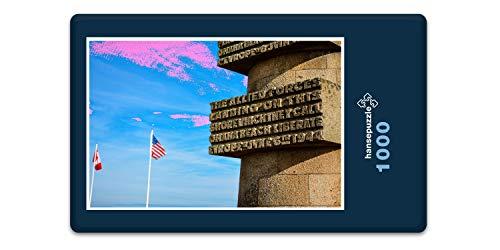 hansepuzzle 61508 Hintergründe - Amerika, 1000 Teile in Hochwertiger Kartonbox, Puzzle-Teile in wiederverschliessbarem Beutel.