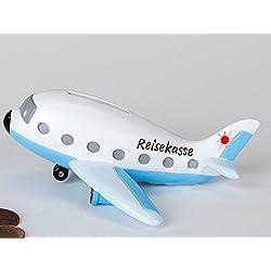 Hucha con forma de avión