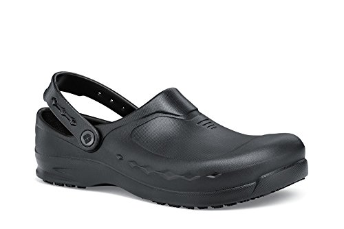 Schuhe für Crews Glas 66064–39/5Zink Unisex Arbeit Clogs, leicht, 5UK, schwarz