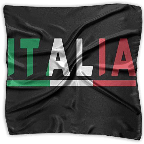 Italian Flag Square Handkerchiefs Scarf Shawl Bandanas Headscarf Neckerchief Tie Hair Scarf