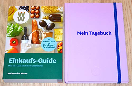 Charmate® Beauty Set //Gesichtspflege//Weight Watchers - Wellness that Works/Healthy Kitchen WW Einkaufs-Guide + Mein Tagebuch Journal Planer Lavendel - FitPoints® / SmartPoints® Plan / 2019