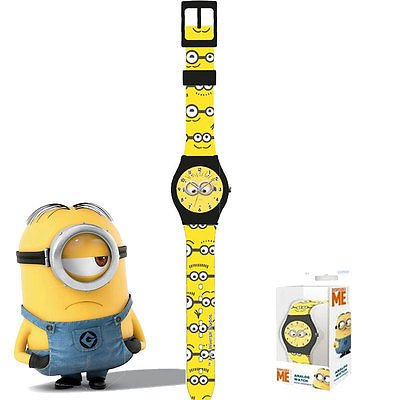 Orologio da polso analogico in box Minions