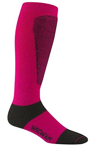 Wigwam Snow Sirocco Midweight Ski Socken-Hot Magenta, Medium/Größe UK 5-8 - Wigwam-ski-socken