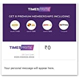 Flat 15% off at checkout||Times Prime E-Gift Card