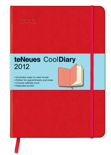 2012 Red/Squares Red Cooldiary Med