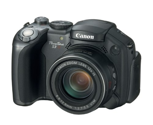 Canon PowerShot S3 is Digitalkamera (6 Megapixel, 12fach Zoom) Canon Powershot S3