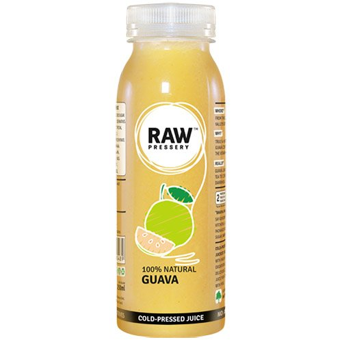 Raw Pressery Cold Pressed Juice - Guava, 250ml Bottle