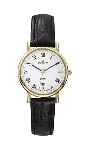 Dugena Classic Ladies Watch Quartz Watch With Leather Strap  4460366