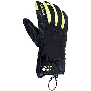 CAMP G Hot Dry Handschuhe Black/Yellow Handschuhgröße M | 7 2019 Outdoor Handschuhe