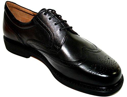 Manz 166064-05 extraweit bristol iII years k agneau pour homme, en pU, businessschuhe noir (001 noir) Noir - Noir