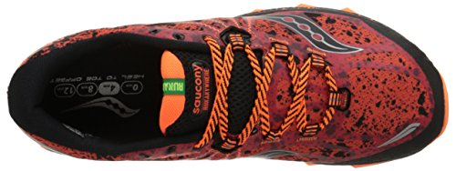 Saucony Nomad TR Red Black Orange Multicolore