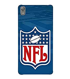 Football, Blue, League CUP, Amazing Pattern, Printed Designer Back Case Cover for Sony Xperia E5 Dual :: Sony Xperia E5