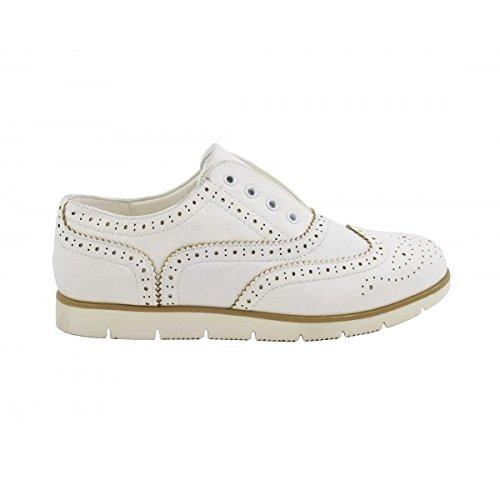 Benavente , Chaussures de ville à lacets pour femme Blanc
