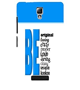 PrintDhaba Quote D-5741 Back Case Cover for LENOVO A2010 (Multi-Coloured)