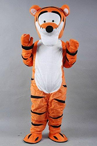 Winnie the pooh tiger Maskottchen Kostuem Erwachsene Groesse