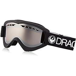 Dragon Alliance DX-Gafas de esquí, Hombre, Color Coal/Ionized, tamaño Talla única