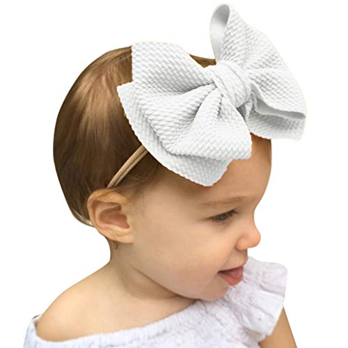 Oyedens Baby Mädchen Stirnband Spitze Haarband Mädchen Perle