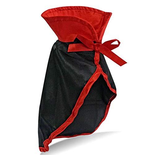 (MOSHANGHUA Pet Supplies Halloween Vampir Cloak Dress up Welpen Katze Kleidung Zubehör)