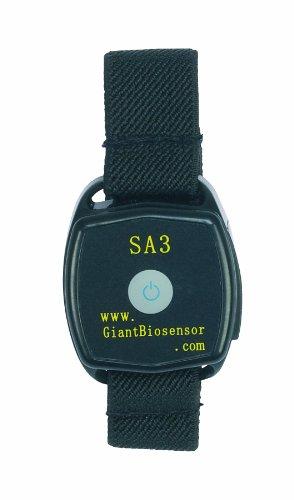 NRS Alarm-Armband für Diabetiker (warnt bei Unterzuckerung) M08418, für Hand- oder Fußgelenk
