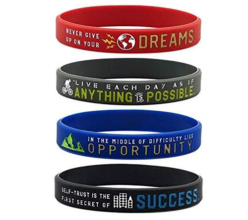 Zoom IMG-3 11thgear braccialetti motivazionali con scritta