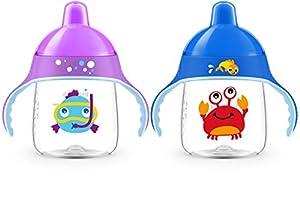 vasos con boquilla: Philips SCF753/02  - Taza con caño decorado, colores surtios