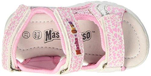 MASHA E ORSO  S17712gaz, Chaussures souples pour bébé (fille) - rose - rose Rose