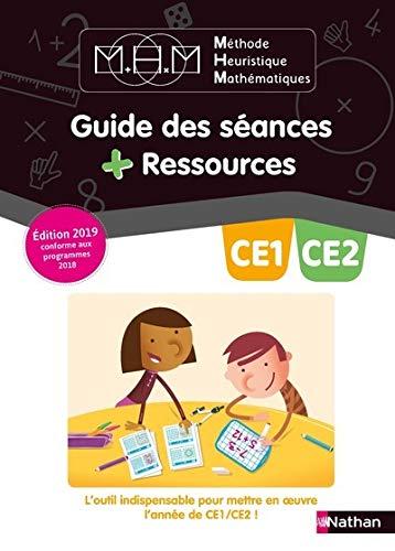Methode Heuristique de Mathematiques Pinel CE1/CE2 - Guide Pedagogique - 2019