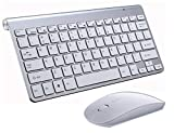 Faironly 2.4G Wireless Keyboard Mouse Set Mini Multimedia Keyboard Mouse Combo Set