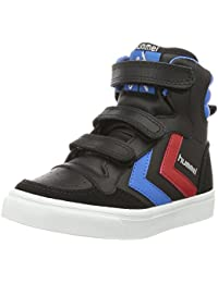 Hummel Unisex-Kinder Stadil Jr Leather High-Top