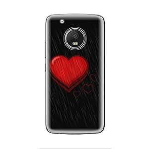 Skintice Designer Soft Case with direct printing for Moto G5 Plus