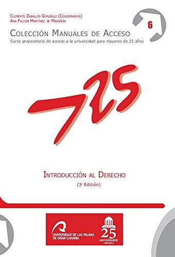 Introducción al derecho por Ana María Falcón Martínez de Marañón