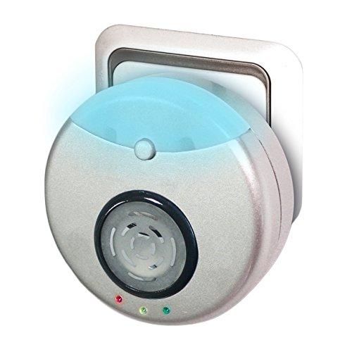 Repulse Power Repelente de Insectos y roedores/con ultrasonidos y Tecnología electromagnética/Sin Necesidad de recambios/Pest Reject