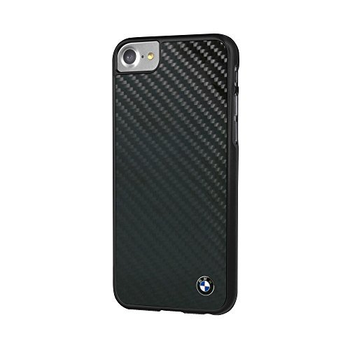 BMW bmhcp7mbc Signature Custodia Case Cover per Apple iPhone 7, Vera Fibra di Carbonio