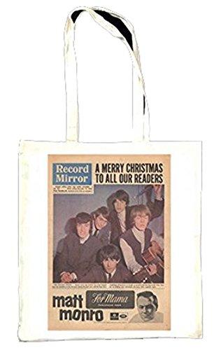 Enregistrement Miroir christmass Problème Rolling Stones pour Totebag