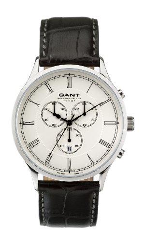 Gant Watches Men's Quartz Watch Windsor Chrono W10782 with Leather Strap
