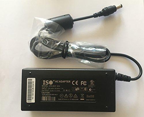 Stromversorgung für LED-Streifen Lichter CCTV-Kameras 12v 5A - zertifiziert (12v 5a Cctv-stromversorgung)