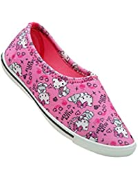 Hello Kitty Shoes For Girls - Pink (2 UK/IN (32 EU))
