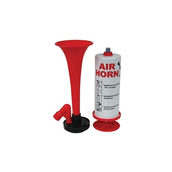 Streetwize PHE Handheld Air Horn – Gasless Air Horn with Pump Action, For Stag Parties, Rugby Matches 1
