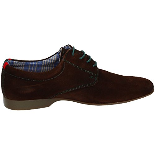 RIVERTY, Scarpe stringate uomo Marrone