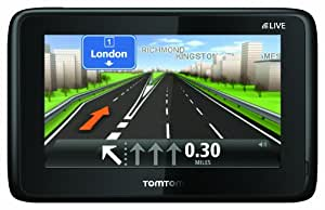 """TomTom GO LIVE 1005 5"""" Sat Nav with World Maps (66 Countries) (discountinued by manufacturer)"""