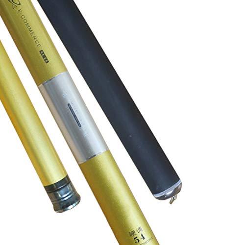 HIOD Kohlefaser Angelrute Pole Stream Rod 3.6-7.2m Geeignet FüR FlüSse,6.3M
