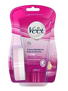 Veet suprem 39 essence cr me d pilatoire sous la douche 135 - Creme depilatoire sous la douche veet ...