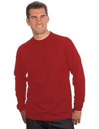 QUALITYSHIRTS Langarm Basic Shirt Gr. S - 6XL