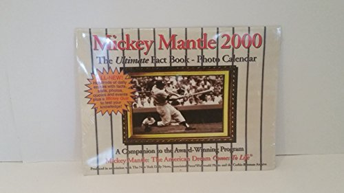 Mickey Mantel 2000: The Ultimate FACT BOOK-Foto Kalender