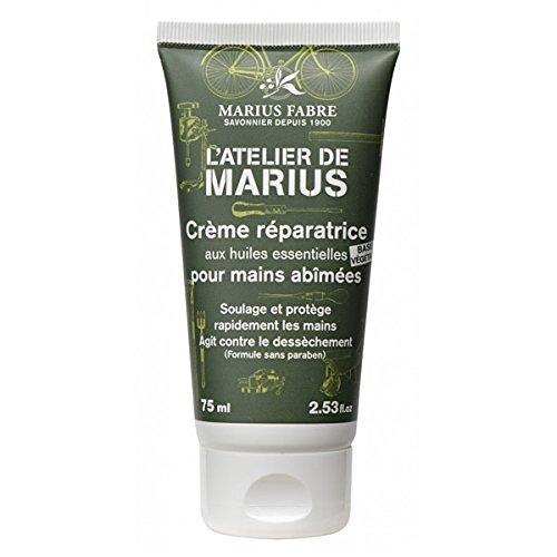 Marius Fabre 'L'atelier de marius' - Crème réparatrice pour mains abîmées - 75 ml