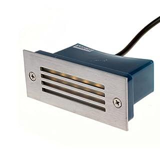 Warmweiß Weiß LED Lampe Einbaustrahler Bodenleuchte Licht 230V 2W Wasserdicht