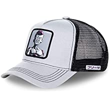 Collabs Dragon Ball Z Frieza Trucker Gorra Hombre Gris