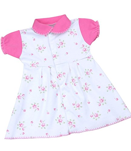 BabyPrem Bébé Prématuré Robe Filles Vêtements Fleurs 5.5-7.5lb (44-50cm) BÉBÉ ROSE P3